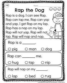 Kindergarten Reading Comprehension Passages - Planning Playtime