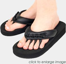 Yoga sandals!  Supposed to be super nice to your feet and for a variety of ailments. Hmm...we'll see...