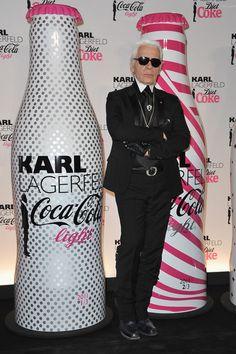 Coca-Cola Light & Karl Lagerfeld New Collaboration Celebration Cocktail