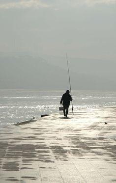 Fisherman's haze (Bebek-Istanbul