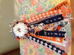 Freshman Homecoming Mum garter