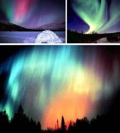 The Aurora Borealis (aka Northern Lights) Gorgeous!