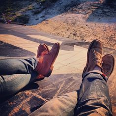 Instagram photo by @patrickwagemaker | #clarks | #desertboots