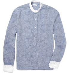 ed45ce16b Casual Shirts for Men | Designer Menswear. Michael BastianGrandad Shirts Denim ...