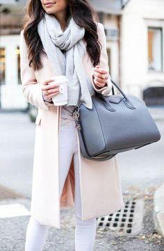 Grey Givenchy Antigona bag