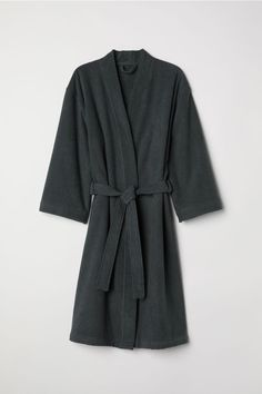 Terry dressing gown
