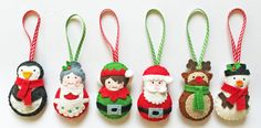 Decorating the Christmas tree is such a special family tradition. Getting the ornaments out of the box, and remembering Christmases gone by. In our family, each family member has special Christmas ornaments that they hang on the tree. Every year, we add to our ornament collection. Handmade Christmas ornaments give a special touch. You can personalise them to your family. Here are 11 of the merriest Christmas ornament sewing patterns.
