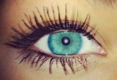 Beautiful eye color