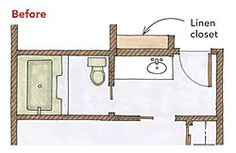 Wide-Open Baths for Small Spaces - Fine Homebuilding Article