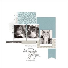 Showcasing some of the most outstanding digital scrapbooking layouts posted in the galleries, almost every single day. Baby Scrapbook Pages, Baby Boy Scrapbook, School Scrapbook, Scrapbook Albums, Scrapbook Cards, Digital Scrapbooking Layouts, Scrapbook Sketches, Scrapbook Page Layouts, Album Photo