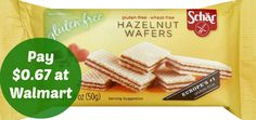 $1 off Schar Gluten Free Coupon | Pay $0.67 at Walmart on http://www.moneysavingmadness.com