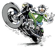 Motorcycle Posters, Motorcycle Art, Bike Art, Joe Bar Team, Motocross, Bd Cool, Harley Davidson Kunst, Moto Journal, Joes Bar