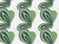 """""""Fashion Butterfly"""" by ivy21 blue, butterfly, green"""