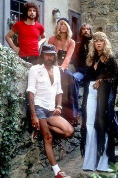 Fleetwood Mac photographed in 1977