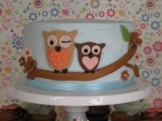 blue Owl Baby Shower Supplies | ... Animalz Party Shop: NEW HAPPI TREE OWL BABY SHOWER PARTY SUPPLIES