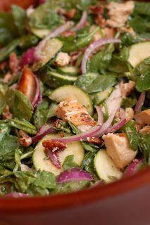 Sugar & Spice by Celeste: Zucchini and Chicken Salad