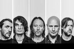 Radiohead - Colin Greenwood, Jonny Greenwood, Thom Yorke, Philip Selway, and Ed…