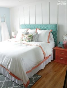 The Happy Housie Home Tour for Primitive and Proper Master Bedroom