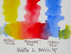 watercolor basics - lessons