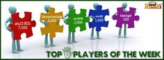 #Congratulations to the Top 5 Players of Week!!!  Every week Top 5 #players will win a share of Rs 15,000 #CASHBACK.  For more details about the offer check the link below>> https://www.classicrummy.com/online-rummy-promotions/rummy-cash-back-offer?link_name=CR_12