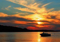 Sunset Lake Winnipesaukee