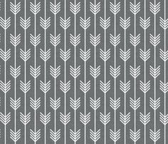 arrows white small by holli_zollinger, click to purchase fabric