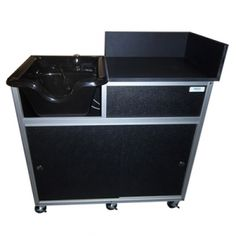 Pse 2005g Portable Shampoo Sink With Extended Cabinet