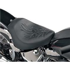 Solo Seat Flame Stitch Each - Harley Davidson FXSTD Softail Models 00-07 - DS-0802-0641 Review Buy Now
