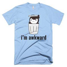I'm Awkward T-Shirt | JaidenAnimations Shop