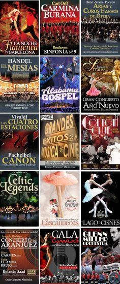 17è Cicle de Concerts Promoconcert 2014-2015 a Barcelona. Palau de la Música Catalana / L'Auditori / Gran Teatre del Liceu. Des del 4 de desembre 2014 fins al 22 de març 2015