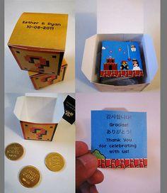 Super Mario Bros. Wedding Invitation :D