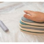 How to Make Marbled Effects on Pottery Using Colored Clay Slabs | Ceramic Arts Daily