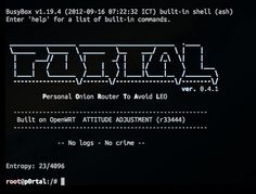 PORTAL - Personal Onion Router To Avoid Law enforcement officers.
