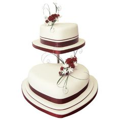 2 tier heart shaped wedding cakes 1000 images about wedding cake ideas on 10132
