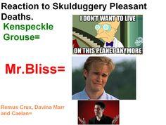 Skulduggery pleasant deaths: by cantdrawcanlove