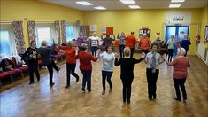 "The Gentle Line Dance class try out ""Sherry Baby"" contra line dance 19/1..."