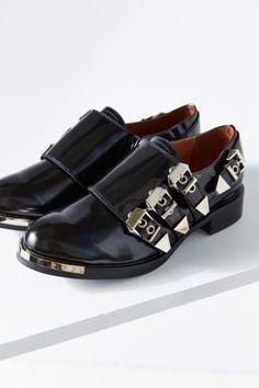 Jeffrey Campbell Kelmore Monk Strap Shoe - Urban Outfitters