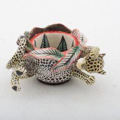 Ardmore Ceramics leopard egg cup