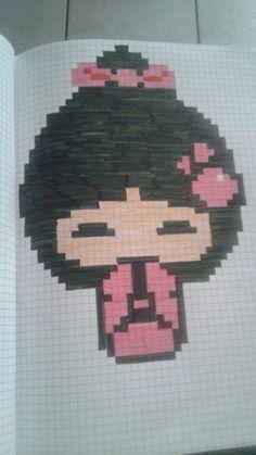 pixel art - Page 3 Hama Beads, Modele Pixel Art, Pixel Art Grid, Pixel Drawing, Art Perle, Pix Art, Art Pages, Totoro, Pattern Art