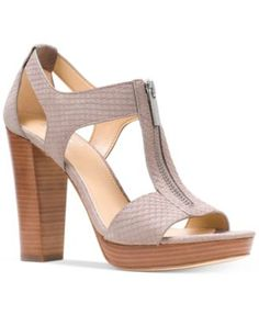 08a2e4c0e69f Berkley T-Strap Platform Dress Sandals. Michael Kors ...