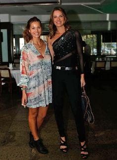 Pâmela Tomé e Letícia Birkheuer (Foto: Ellen Soares / Gshow)