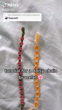 Diy Bracelets Patterns, Diy Bracelets Easy, Thread Bracelets, Summer Bracelets, Bracelet Crafts, Bracelet Designs, Diy Friendship Bracelets Tutorial, Diy Friendship Bracelets Patterns, Bracelet Tutorial