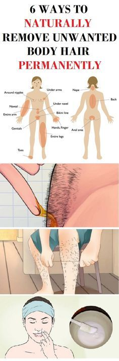 Remove your unwanted body hair permanently at home. All these ingredients can generally be found in your kitchen and they contain advantageous chemicals which don't have any negative consequences for the body.