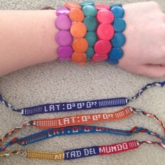 Pack of Handmade Bracelets from Ecuador I brought back a ton of bracelets from Ecuador when I went a few years ago, and I have yet to give them all out. These make excellent gifts for young girls! I have five beaded bracelets that are strung on two elastic strings each, and four woven friendship bracelets. All colors shown in pictures. I'd love to sell these in a pack, but if you are interested in only a couple I will make a separate listing for you! Thanks for visiting my closet💕 Jewelry…