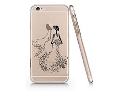 Bride Butterfly Slim Iphone 6 6S Case, Clear Iphone 6 6S Hard Cover Case For Apple Iphone 6/6S -Emerishop (AH1306) Emerishop