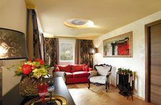 Großzügige Zimmer und Suiten