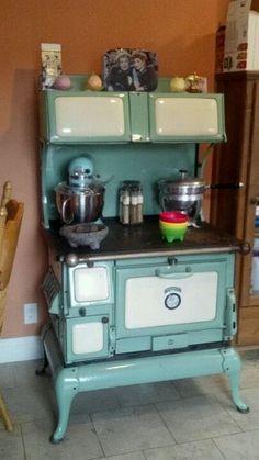 antique stove                                                       …