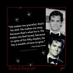 Henry Cavill ~ Christian Grey
