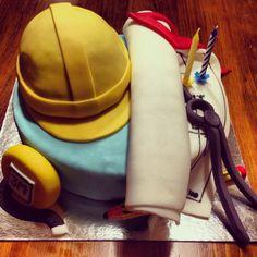 Pastís per a un arquitecte. Cake for an architect.