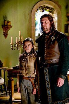 Eddard Stark played by Sean Bean